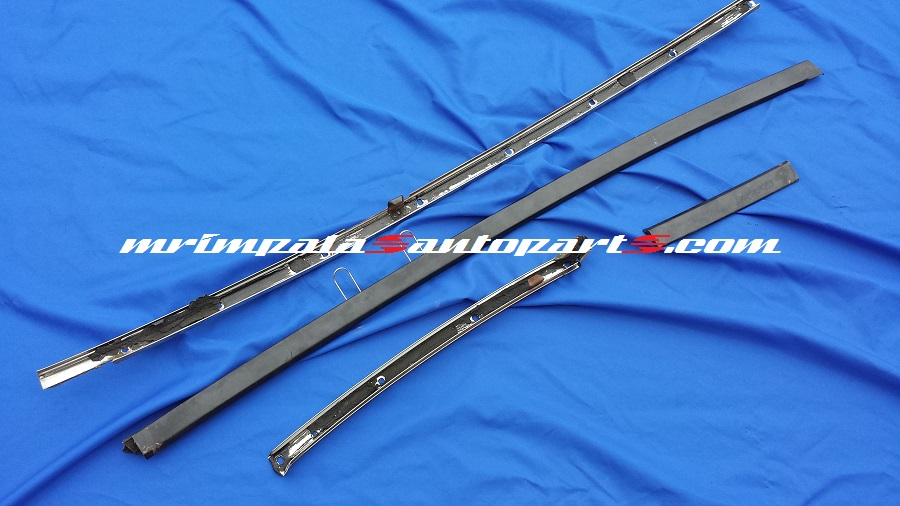 69 70 Chevy Impala Custom Coupe Roof Rail Gutter Mouldings LT