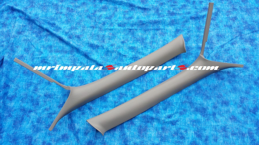 94-96 Chevy Impala SS A-pillar Mouldings Reconditioned GRAY