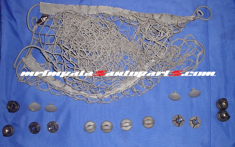 94 95 96 Impala SS Caprice Trunk cargo net and fasteners GRAY